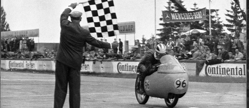 Enrico Lorenzetti, the champion that made the Moto Guzzis fly