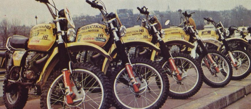 Moto Guzzi and the Paris to Dakar: the French and the inaugural race held in 1979