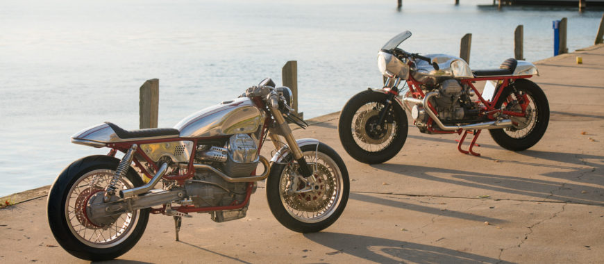 Rodsmith Motorcycles' Moto Guzzi customs