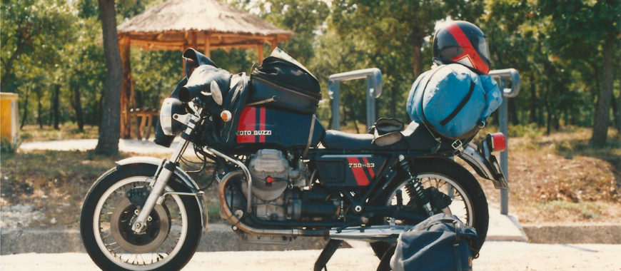 Journey in Italy on a 750-S3. The Guzzi of a lifetime.