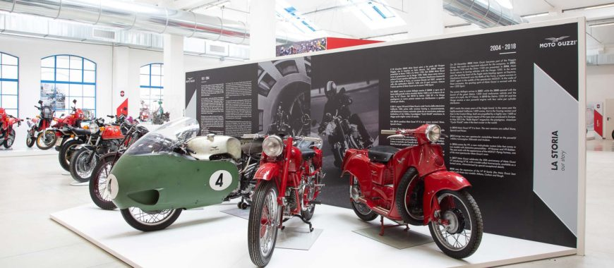 """The """"Eagle"""" is star of the show at the Piaggio Museum"""