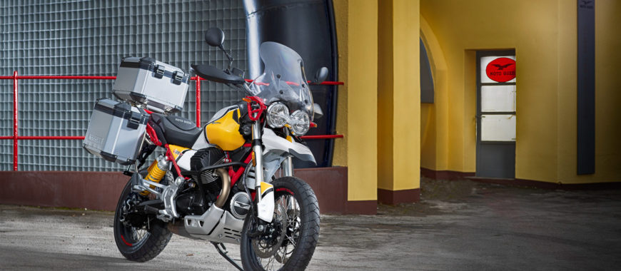 V85 TT Accessories: get ready for adventure!